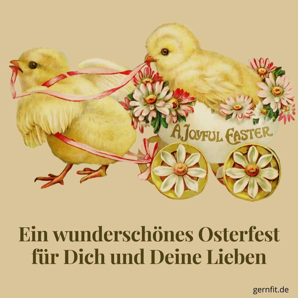 Whatsapp Ostergrüße gratis downloaden Motiv 4
